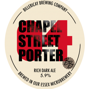 Billericay Brewing Chapel Street Porter